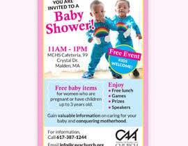 #77 untuk Baby shower flyer oleh lv2000