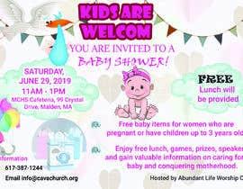 #84 untuk Baby shower flyer oleh Onitaislam