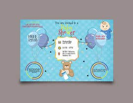 #78 untuk Baby shower flyer oleh NishanKumar14