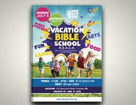 nº 63 pour Vacation Bible School Flyer par dessdamiani