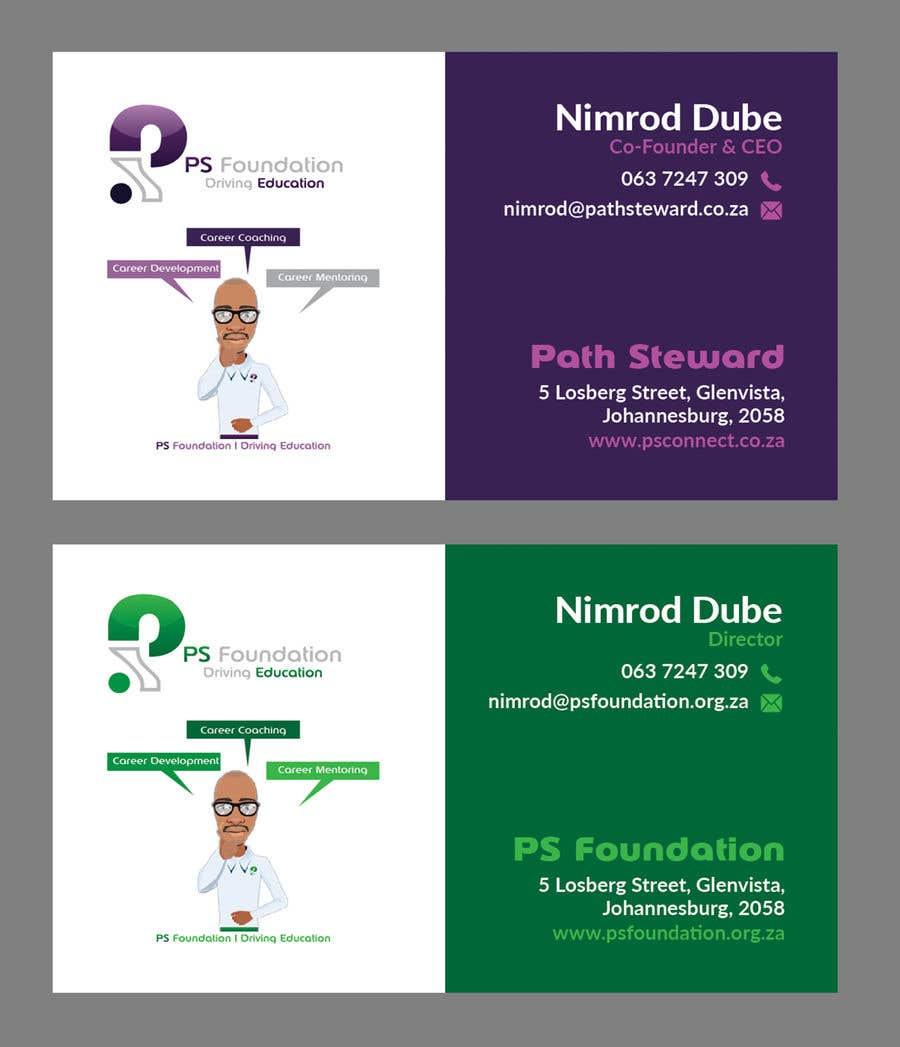 Penyertaan Peraduan #169 untuk Business card Design