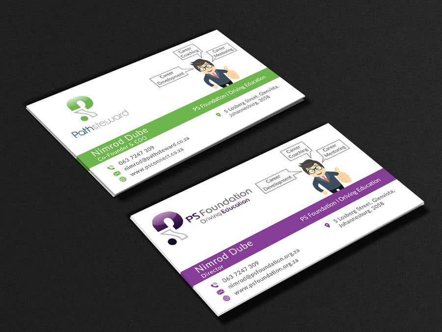 Penyertaan Peraduan #180 untuk Business card Design