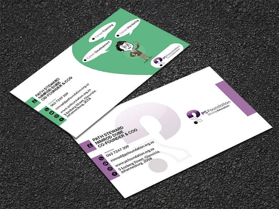 Penyertaan Peraduan #108 untuk Business card Design