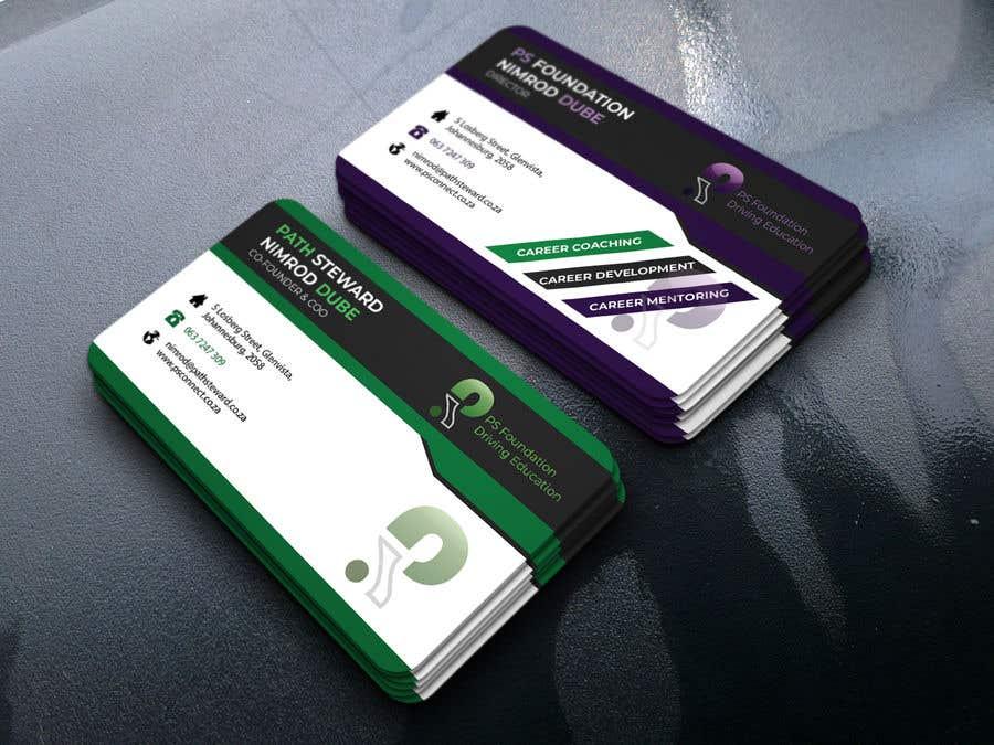 Penyertaan Peraduan #246 untuk Business card Design