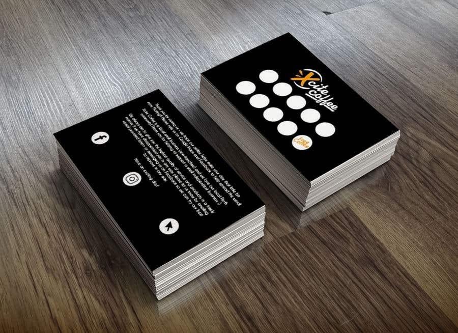 Konkurrenceindlæg #24 for Design loyalty card for coffee shop