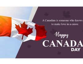 #25 para Facebook Banner - Canada Day - SSD por jeevanmalra