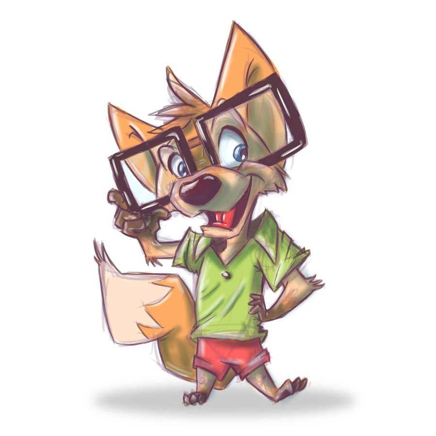 Proposition n°26 du concours Design a cartoon fox mascot