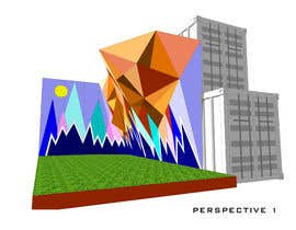 Nro 10 kilpailuun Geometric Pattern Mural Design For A Bouldering (Climbing) Wall käyttäjältä cyberlenstudio