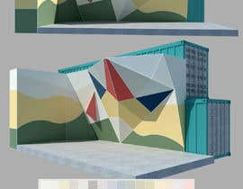 #19 cho Geometric Pattern Mural Design For A Bouldering (Climbing) Wall bởi DingChe