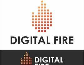 #79 for Digital Fire Logo Design by AntonLevenets