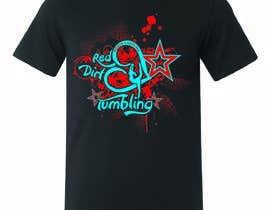 Nro 14 kilpailuun Tumbling team shirt design käyttäjältä stsohel92