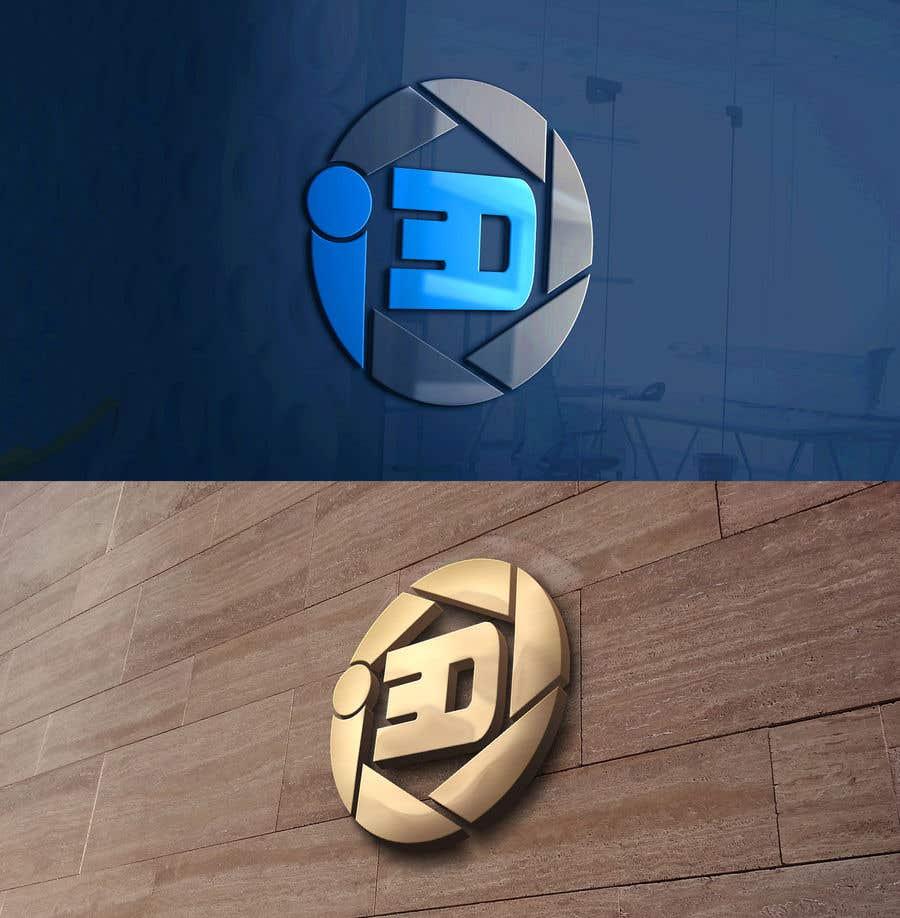 Penyertaan Peraduan #46 untuk Logo design for i3D.