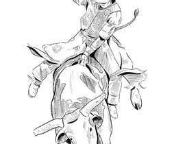 #13 cho Bull rider sketch. bởi Ayaninjaz