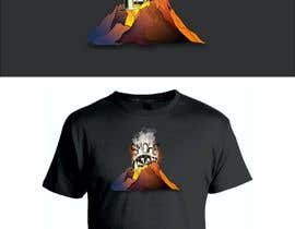 #8 for Volcano Illustration for Dart Shirt by Sico66