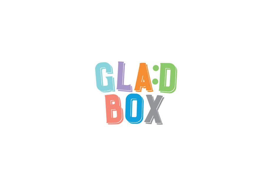 Конкурсная заявка №7 для Logo's name: GladBox, the name means happy box, unisex colors and finally something like a little symbol that communicate sweetness.