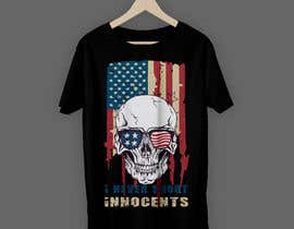 #46 for T shirt design for Americans Guns lovers af raihan397