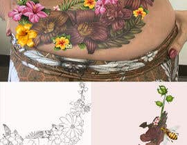 #16 for Design a Floral Design for Tattoo by Eugenya