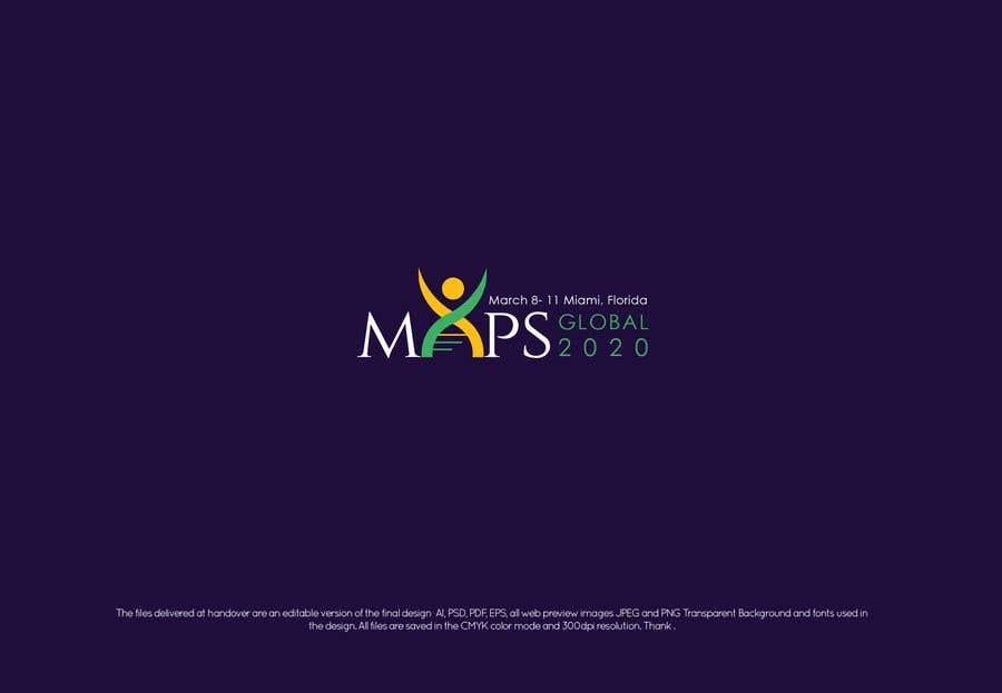 Penyertaan Peraduan #211 untuk MAPS 20202 Logo
