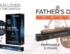 Nro 73 kilpailuun Father's Day Sale Banner käyttäjältä darbarg