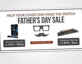 Nro 24 kilpailuun Father's Day Sale Banner käyttäjältä sadasadhin24