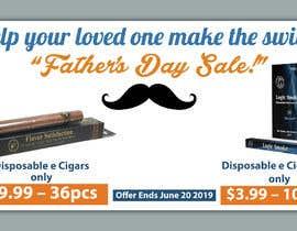 Nro 66 kilpailuun Father's Day Sale Banner käyttäjältä srranjitkumar487