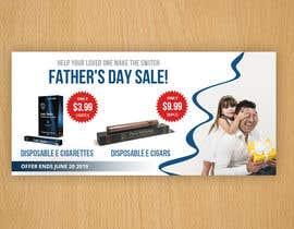 Nro 69 kilpailuun Father's Day Sale Banner käyttäjältä SunlightGraphic