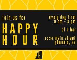 #16 for Happy Hour Invitation Card af predacristian23