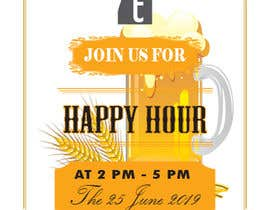 #12 for Happy Hour Invitation Card af ismailhossain122