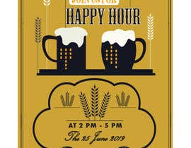#13 for Happy Hour Invitation Card af ismailhossain122