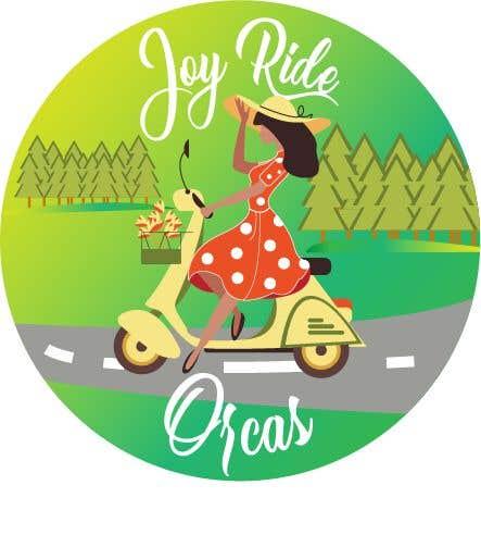 Penyertaan Peraduan #20 untuk Joy Ride Orcas Logo