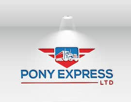 "#79 for Logo for a Transporation Company, ""PONY Express Ltd."" af arafatrahaman629"