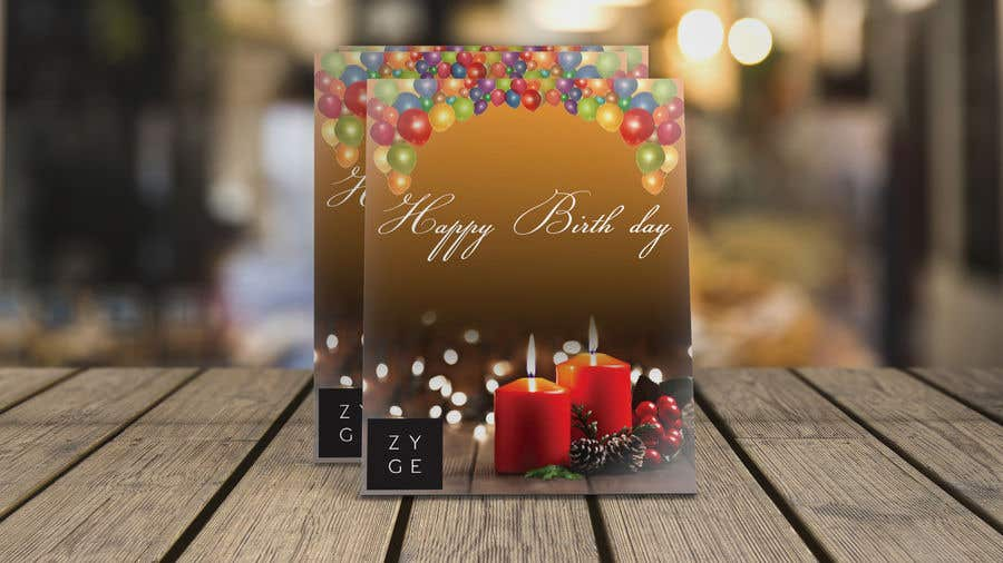 Penyertaan Peraduan #40 untuk Corporate Birthday card & Happy  New Year