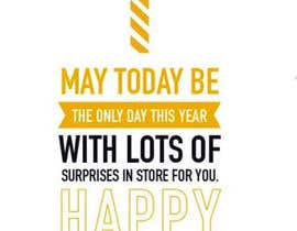 #50 untuk Corporate Birthday card & Happy  New Year oleh yeasinn