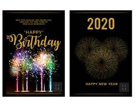 #70 for Corporate Birthday card & Happy  New Year by WinningChamp