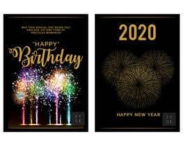 #70 untuk Corporate Birthday card & Happy  New Year oleh WinningChamp