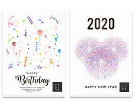 #71 untuk Corporate Birthday card & Happy  New Year oleh WinningChamp