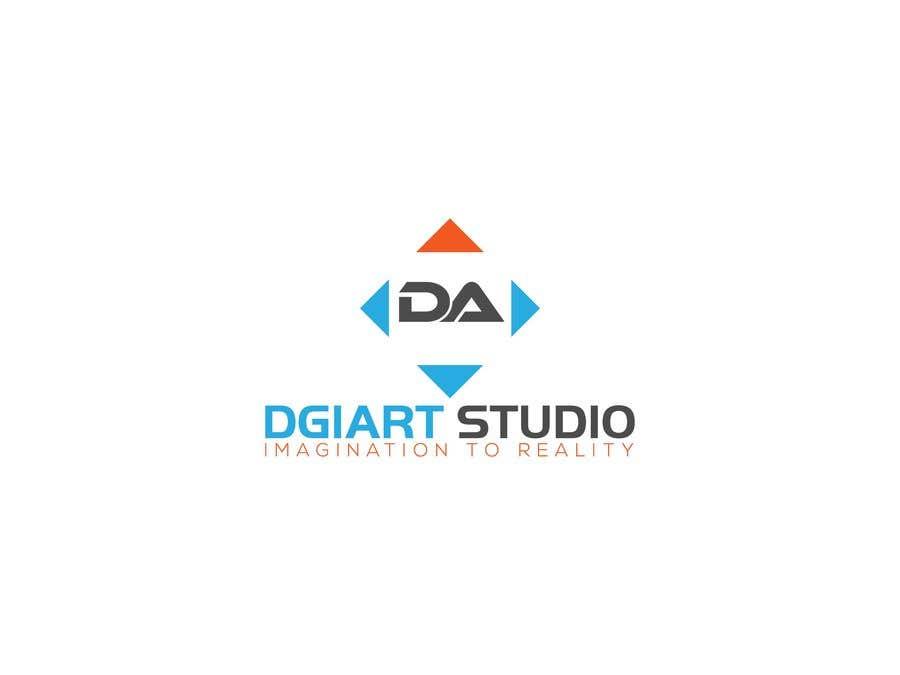 Penyertaan Peraduan #4 untuk Redesign -  current logo DGIART