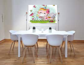 Akheruzzaman2222 tarafından Design a unicorn picture for nursery painting için no 145