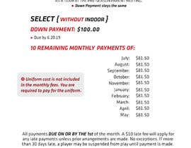 #5 untuk URGENT Need new design in PSD for cost breakdown and monthly payment plan oleh Manishbiswas20