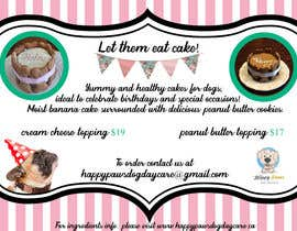 #63 for Cakes for dogs af sarapesikan