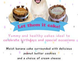 #51 for Cakes for dogs af Waseem6598