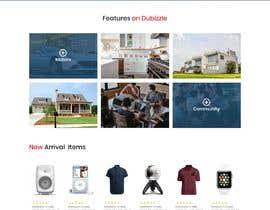 Nro 30 kilpailuun Website mokup design käyttäjältä Humayun963