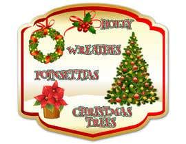 nº 25 pour Christmas Farm Sign par pgaak2