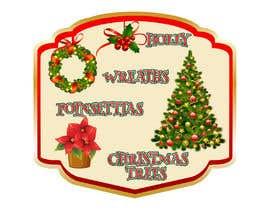 nº 37 pour Christmas Farm Sign par pgaak2