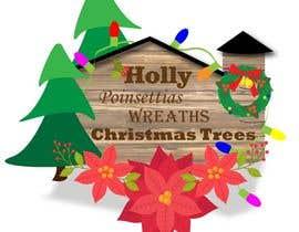 #22 cho Christmas Farm Sign bởi churdesigns