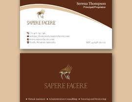 #922 для Design a name card от wefreebird