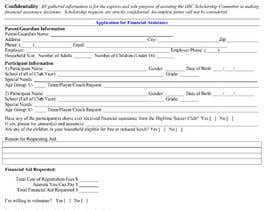 #22 for URGENT Need financial aid form created PDF by Abidf25