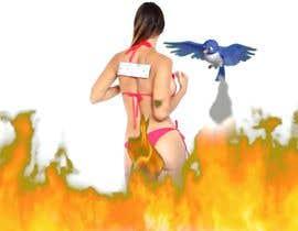 #11 para Set girl on fire, put her out with bird shit por DesignerMusaad