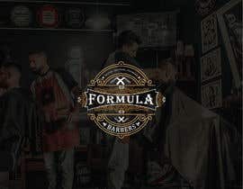 #128 для Logo and graphic design for Formula Barbers от saifsg420