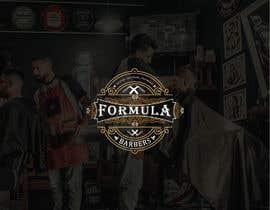 #128 for Logo and graphic design for Formula Barbers af saifsg420